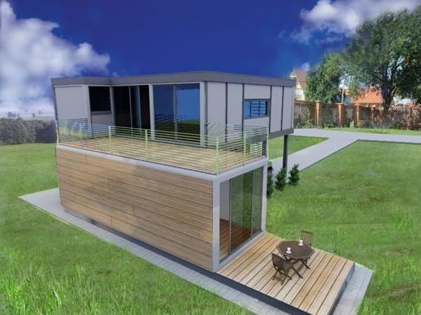 Maisons Moderne Modulaire Ossature Bois