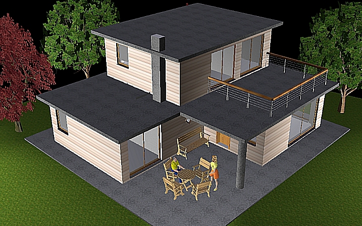 Deltawood promotion de maisons modulaire bbc ossature bois pas chere et de - Maison modulaire pas cher ...