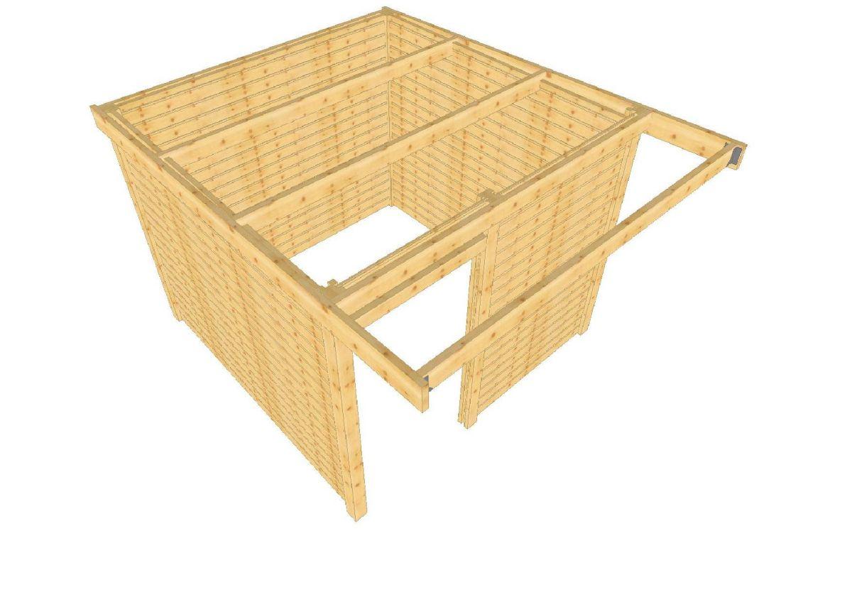 box a chevaux en kit pas cher en madriers bois massif box chevaux abri de jardin barns. Black Bedroom Furniture Sets. Home Design Ideas