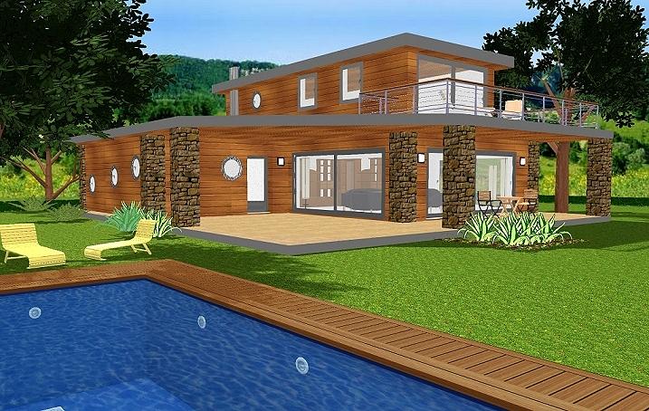 maison modulaire bois bbc segu maison