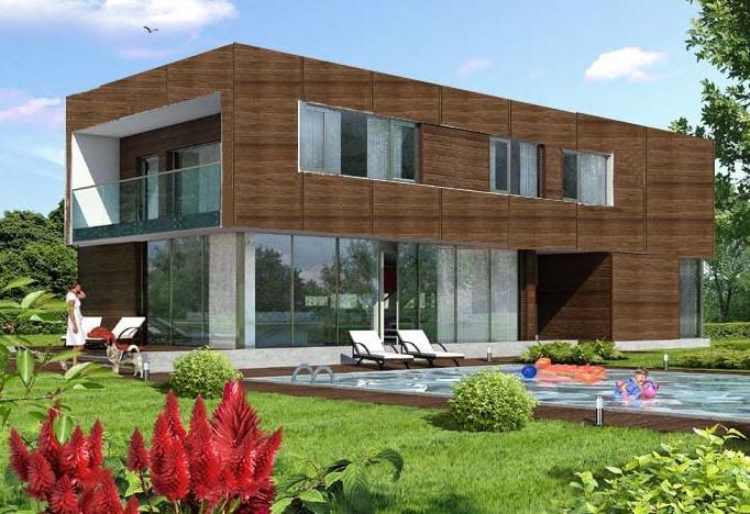construction individuelles modulaire bois. Black Bedroom Furniture Sets. Home Design Ideas